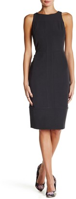 Alexia Admor Sleeveless Seamed Sheath Dress