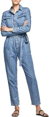 Outland Denim Piper Long Sleeve Jumpsuit