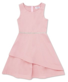 Speechless Little Girl Round Neck Tier Bottom Dress