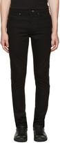 McQ by Alexander McQueen Black Zip Strummer Jeans
