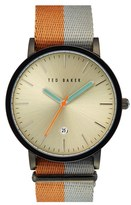 Ted Baker Men's Nato Strap Watch, 40Mm