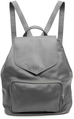 Holly & Tanager Protege Leather Mini Backpack In Grey