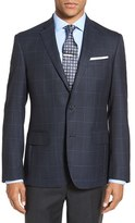 Nordstrom Men's Trim Fit Check Wool Sport Coat