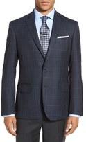 Nordstrom Trim Fit Check Wool Sport Coat