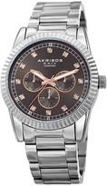 Akribos XXIV Men's Alloy Diamond Watch