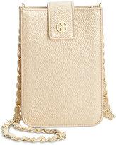 Giani Bernini Softy Leather Smartphone Crossbody, Only at Macy's