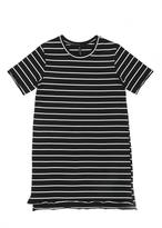 Knot Sisters Raw Edged Tee Dress