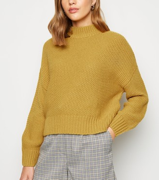 New Look Stitch Knit High Neck Jumper