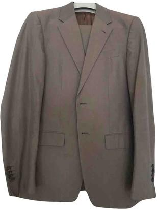 Prada Grey Cotton Suits