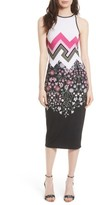Ted Baker Women's Seenaa Print Jersey Midi Dress