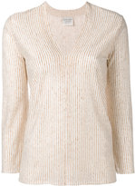 Forte Forte V neck top - women - Linen/Flax - 2