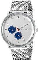 Skagen Men's SKW6187 Hald Stainless Steel Mesh Watch