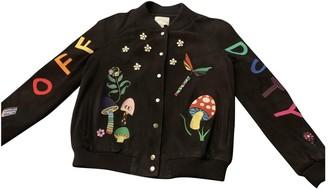 Mira Mikati Multicolour Leather Jacket for Women