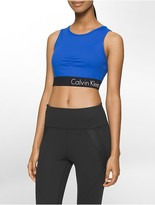 Calvin Klein Performance Open Back Sports Bra