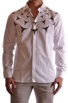 Neil Barrett Men's White Cotton Shirt.