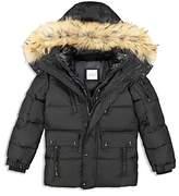 SAM. Boys' Fur-Trimmed Down Jacket - Big Kid