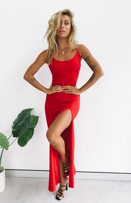 The Edit Alissa Formal Dress Red
