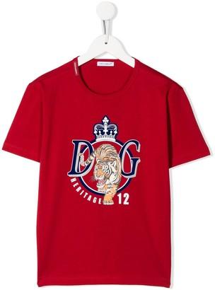 Dolce & Gabbana Kids DG Tiger T-shirt