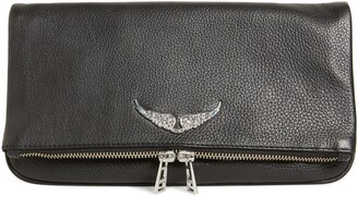 Zadig & Voltaire Rock Leather Clutch