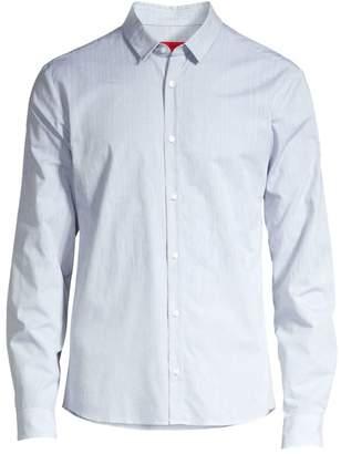HUGO Ero Extra Slim-Fit Degrade Print Shirt