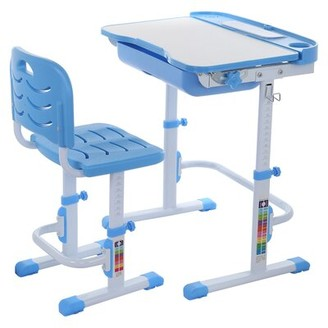"""Isabelle & MaxTM Jezebel Study 23.3"""" W Art Desk and Chair Set Isabelle & Max"""