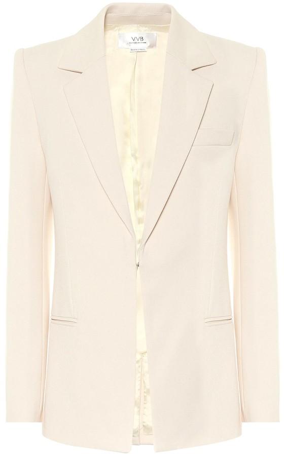 Victoria Victoria Beckham Stretch-twill blazer
