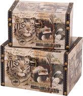 Household Essentials 2-pc. Animal Kingdom Storage Box Set