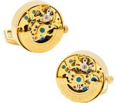 Cufflinks Inc. Men's Kinetic Watch Movement Cufflinks
