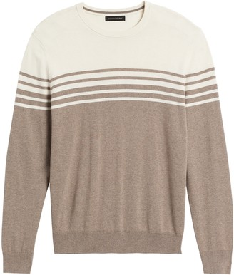 Banana Republic Silk Cotton Cashmere Crew-Neck Sweater