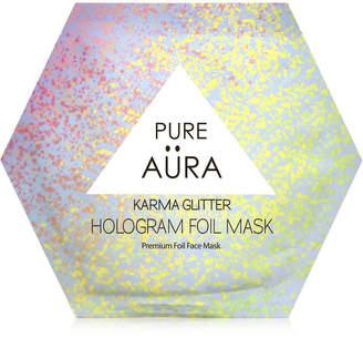 Pure Aura Karma Glitter Hologram Foil Mask