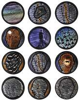Bernardaud L'Art de la Table The Boundless Sea by David Lynch Coupe Plates, Set of 12