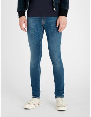 Nudie Jeans Skinny Lin faded slim-fit skinny jeans