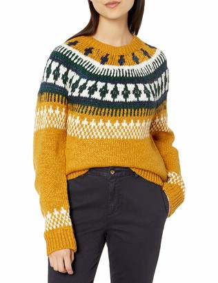 Lucky Brand Women's Bold Fairisle Sweater
