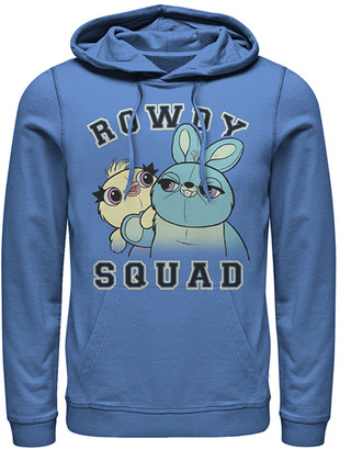 Fifth Sun Sweatshirts and Hoodies ROYAL - Toy Story Royal Ducky & Bunny 'Rowdy Squad' Hoodie - Adult