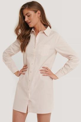 Kim Feenstra X NA-KD Chest Pocket Shirt Dress