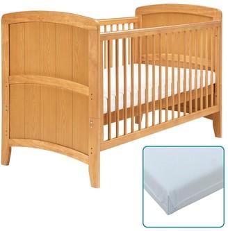 East Coast Nursery Venice Cot Bed & Foam Mattress