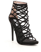 Steve Madden Ursula Heel Zipper Caged Pumps