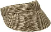 San Diego Hat Company Women's Small Brim Visor O/S Brown