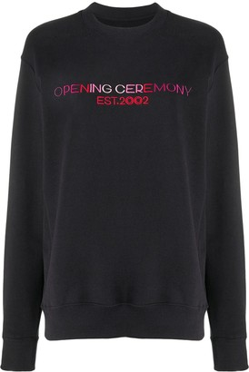 Opening Ceremony Logo-Print Cotton Sweatshirt