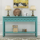 """Ervin 60.03"""" Solid Wood Console Table One Allium Way"""