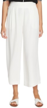 1 STATE Trendy Plus Size Wide-Leg Crepe Pants