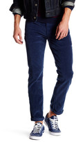 "Levi's Levi&s 511 Slim Fit Dress Blues Rinse Corduroy Pant - 30-34"" Inseam"