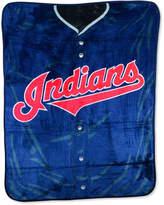 Northwest Company Cleveland Indians Plush Jersey Throw Blanket