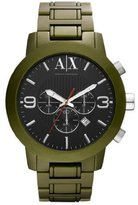 Armani Exchange A|X Men's AX1154 Aluminum Quartz Watch with Dial [Watch]