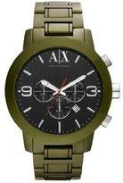 Armani Exchange A|X Men's AX1154 Aluminum Quartz Watch with Dial [Watch]