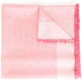Dondup raw-edge scarf - women - Cotton/Polyamide/Polyester/Modal - One Size