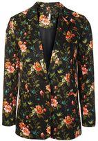 Topshop Floral jacquard blazer