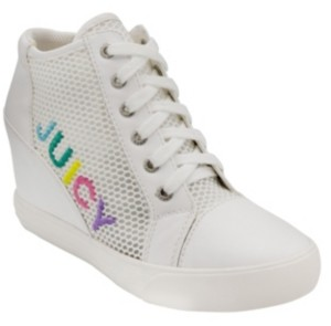 Juicy Couture Jump Wedge Sneakers Women's Shoes