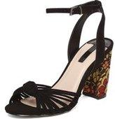 Dorothy Perkins Womens Online Exclusive Black 'Skylar' Sandals- Black