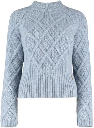 Aqvarossa Sechura Chunky Knit Sweater - Ice Blue